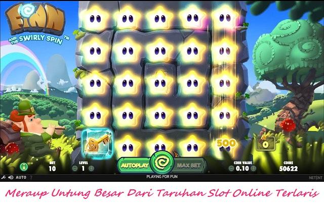 Meraup Untung Besar Dari Taruhan Slot Online Terlaris